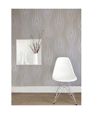 Tempaper Designs Etta Self-Adhesive Temporary Wallpaper, (Pearl)