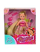Simba Steffi Love Evi Rapunzel : 12 cm Evi, Dark Pink
