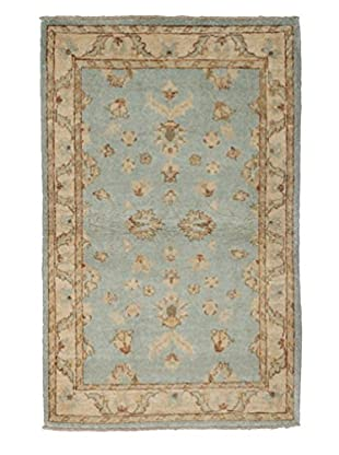 Darya Rugs Oushak Oriental Rug, Light Blue, 2' 10