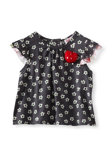 Baby Nay Flutter Sleeve Tank (Crayon Heart)