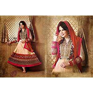 Multicolor Embroidery & Hand Work Salwar Suit