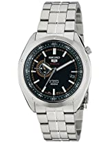 Seiko 5 Sports Analog Black Dial Men's Watch - SSA063K1