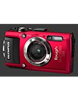 Olympus stylus Tg-3 Camera (Red)
