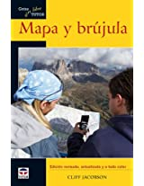 Mapa y brujula / Basic Illustrated Map and Compass (Guias Aire Libre / Outdoor Guides)