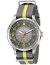 Tommy Bahama  Men's 10018349 Island Scout Analog Display Japanese Quartz Grey Watch