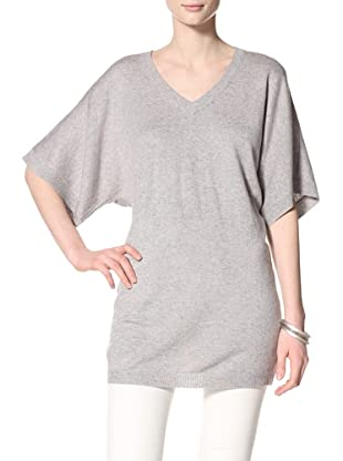 Acrobat Women's V-Neck Dolman Sleeve Sweater (Steel)