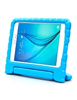 Samsung Galaxy Tab A 8.0 Case - i-Blason ArmorBox Kido Series Light Weight Super Protection Convertible Stand Cover Case 2015 Release (Blue)