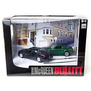 Bullitt-Steve McQueen Diorama series 5, scale 1:64 by GreenLight