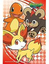 Ensky Pokemon XY Charmander Fennekin Litleo Jigsaw Puzzle (150-Piece), Mini