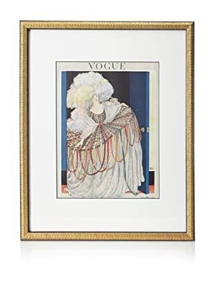 Original Vogue Cover from 1920 by Pierre Mourgue