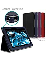 CaseCrown Bold Standby Pro Case (Blue) for 2013 All-New Amazon Kindle Fire HDX 8.9 Inch Tablet (NOT for 2012 Kindle Fire HD 8.9) with Sleep / Wake Hand Grip Corner Protection & Multi-Angle Viewing Stand