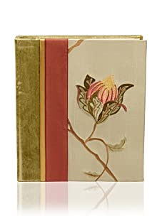 Molly West Aqua Blossom-Photo Album, Aqua