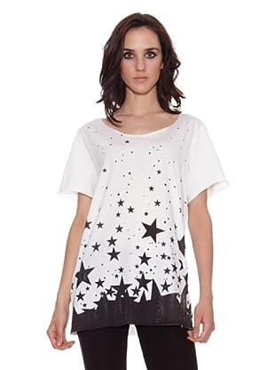 The Hip Tee Camiseta 1000 Stars (Blanco)