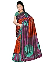 Kothari Printed Saree (VS009170MB_Brown)