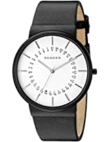 Skagen Ancher Analog White Dial Men's Watch - SKW6243