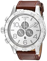 Nixon Men's A124747 51-30 Chrono Leather Watch
