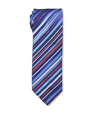 Duchamp Men's Mimic Stripe Tie, Cruise