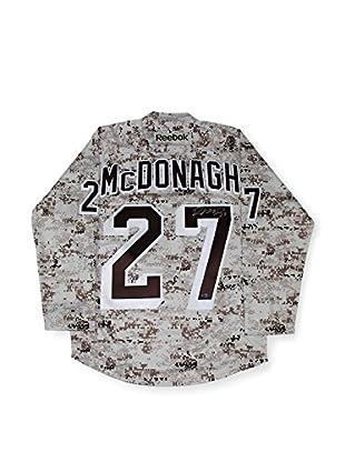Steiner Sports Memorabilia Ryan McDonagh Signed New York Rangers Camo Jersey