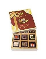 9pc Luscious Truffle Treat - Chocholik Belgium Chocolates
