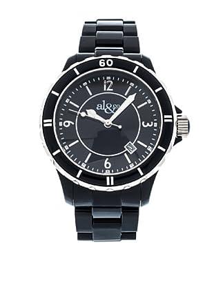 al&co Reloj Black And White Negro