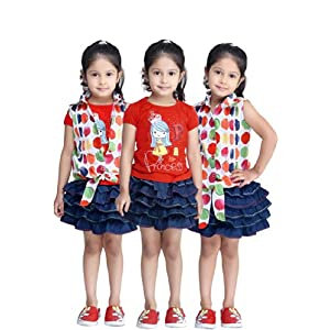 N-XT Girls Twin Sets Red