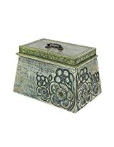 Store Indya Diwali Gifts for Her Handmade Wooden Jewelry Trinket Keepsake Box Decorative Makeup Storage Organizer Dressing Table Accessory Home Living room Décor