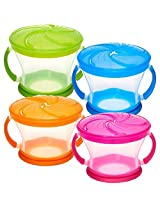 Munchkin 9 Ounce Snack Catcher (4-Count)