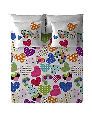 COSTURA Betttuch und Kissenbezug Pop Heart