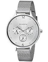 Skagen Anita Chronograph Silver Dial Women's Watch -SKW2312