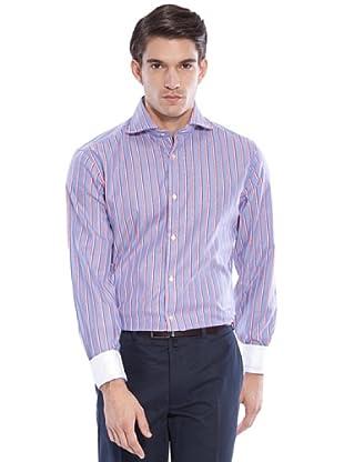 Hackett Camicia Righe (Rosso/Blu)