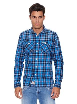 Pepe Jeans London Camisa Sheeran (Azul / Marino)