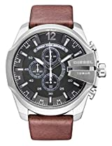 Diesel Chi Chronograph Grey Dial Men's Watch - DZ4290I