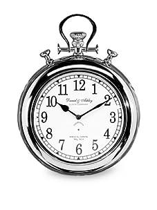 Tribeca Round Wall Clock (Silver)