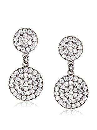Chloe & Theodora CZ Geometric Dangle Earrings