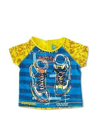 Desigual Camiseta Canela (Marino)