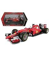 New 1:18 Red Ferrari Racing 2015 Ferrari S. Vettel Diecast Model Car By Bburago