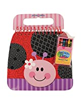 Stephen Joseph Shaped Sketch Pad, Ladybug
