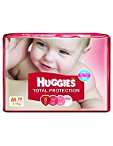 Huggies Total Protection Medium Size Diapers (19 Count)