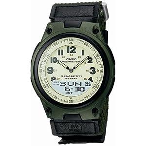 CASIO 腕時計 スタンダード アナログ/デジタル コンビネーションモデル AW-80V-3BJF