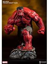 Red Hulk 1/4 Scale Statue Premium Format Figure Sideshow Collectibles