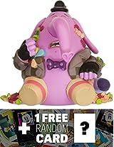 Bing Bong (Eyes Closed) 2.3 Funko Mystery Minis x Disney Pixar Inside Out Mini Vinyl Figure Series 1 FREE Classic Disney Trading Card Bundle 48792