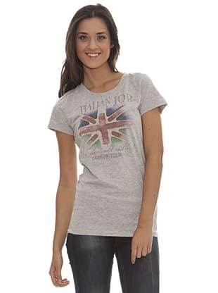 Paramount Camiseta London - Turin (Gris Jaspeado)