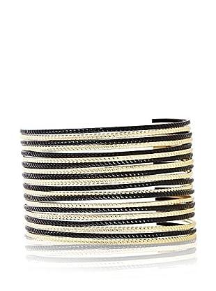 Chicstyle Armband goldfarben/schwarz