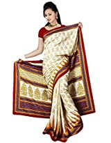 Kothari Saree (KT0102MC _Cream Gold)