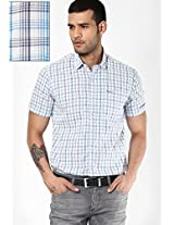 Blue Checked Casual Shirt Pepe Jeans