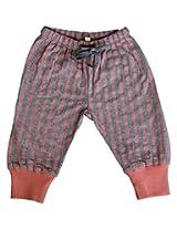 Gron Stockholm Baby Boys' Legging (GW-0189(A)_Gray Melange_0-3 Months)