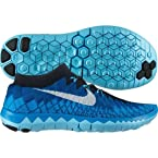 Nike Free 3.0 Flyknit Running Shoes (Blue)