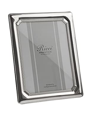 Ricci Tri-Bead Sterling Silver Photo Frame (Silver)