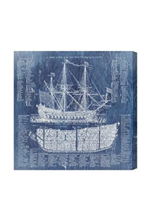 Oliver Gal Ship Vocabulary and Terms Giclée On Canvas