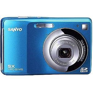 Sanyo 14 MP Blue Digital Camera VPC-S1415BL